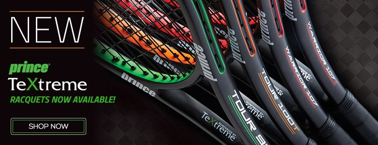 New Textreme Racquets