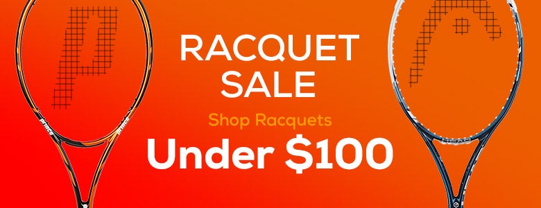 Racquet Sale, shop racquets under $100