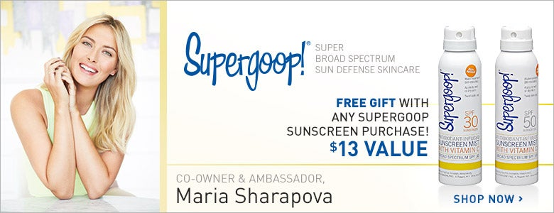 Free Gift with Supergoop purchase