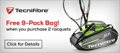 Technifibre, Free 9-pack Bag with purchase of two TFLASH racquets