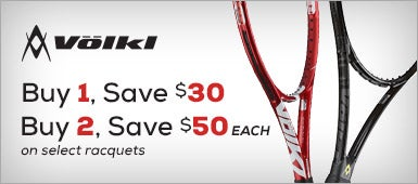 Volkl Save up to $50 on select racquets