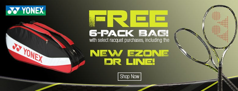 Free Yonex 6-Pack Bag with Purchase