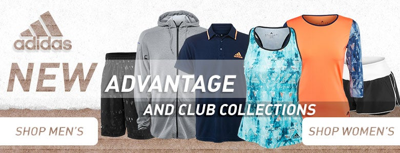 Adidas Advantage and Club Collections