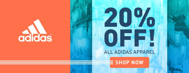 20% Off All Adidas Apparel