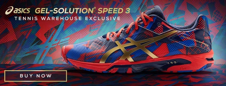 TW Exclusive Asics Gel Solution Speed 3