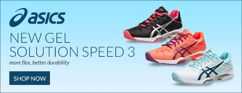 New Asics Women's Gel Solution Speed 3