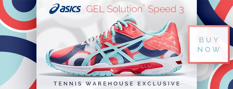 TW Exclusive! Asics Gel Solution 3