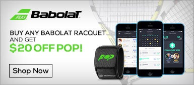 $20 Off Babolat POP with Racquet Purchase