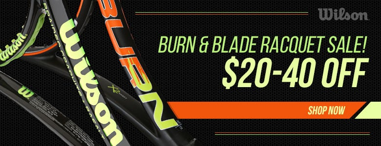 Wilson Burn and Blade Racquet Sale