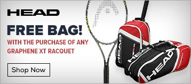 Free Bag with any Head Graphene XT