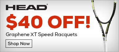 HEAD $40 OFF Graphene XT Speed Racquets