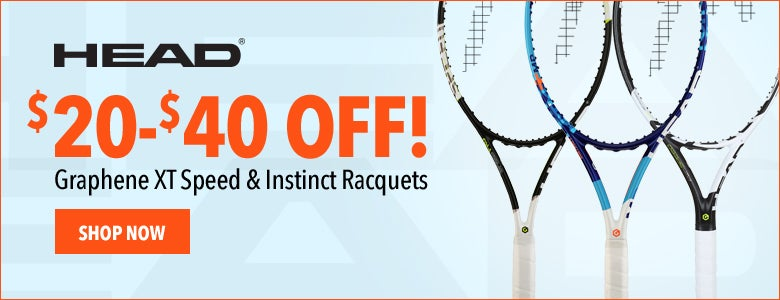 HEAD Graphene XT Speed & Instinct Racquets