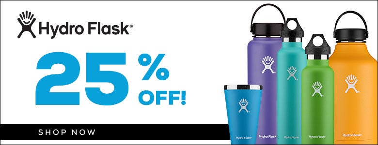 25% Off Hydroflask!