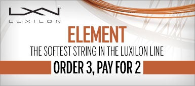 Luxilon Element String Order 3 Pay for 2