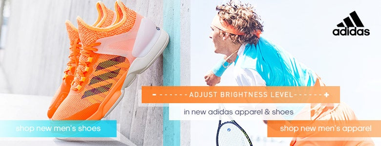 New Men's Adidas Shoes and Apparel