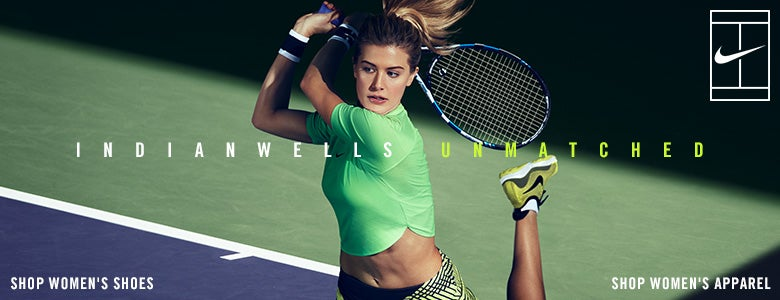 Indian Wells Unmatched, nike shoes and apparel