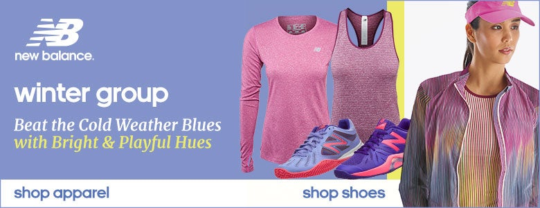 Women's New Balance Winter Group Shoes and Apparel