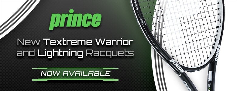 New Prince Textreme Warrior and Lightning Racquets, Now Available