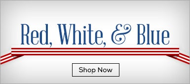 Shop Red, White and Blue Apparel