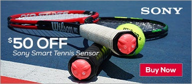 $50 Off Sony Tennis Sensor!