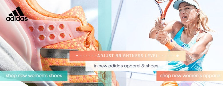 New Women's Adidas Shoes and Apparel