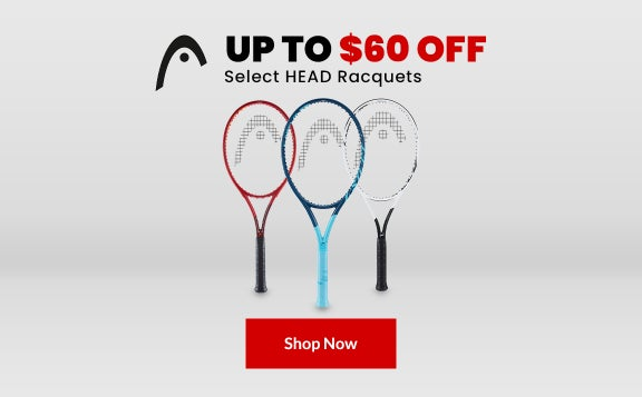 Up to $60 Off Head Racquets