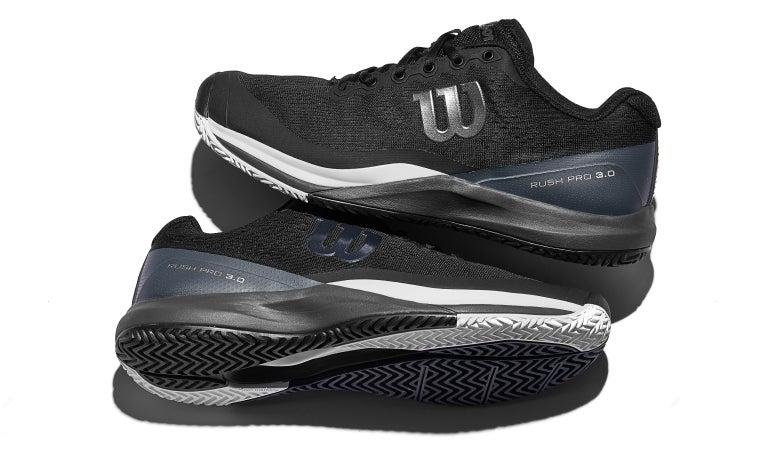 Wilson Rush Pro 3.0 Men/'s All Court Chaussures de tennis Sports Athletic Rouge WRS325890