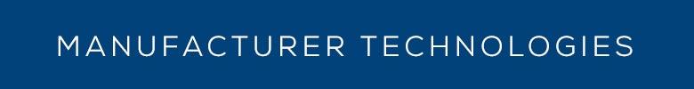 Manufacturer Technologies Banner