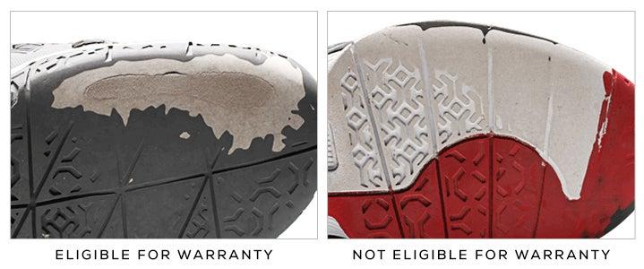 Asics Defective Shoe