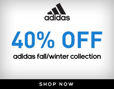 40% Off Adidas Fall/Winter Collection