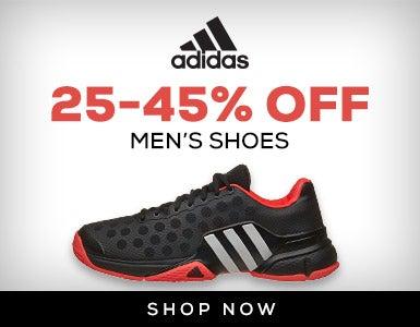 Adidas Men's Shoes 25-45% Off