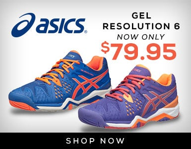 Asics Gel Resolution 6 Only $79.95 (11/30)
