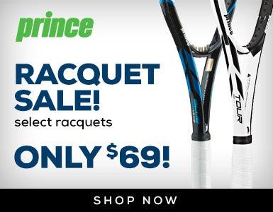 Prince Racquet Sale 11/30