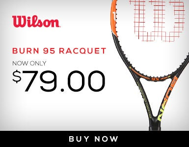 $20-30 Off Wilson Burn Racquets 11/28-TBD