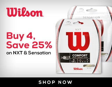 Buy 4, Save 25% on Wilson NXT & Sensation 11/1-12/31