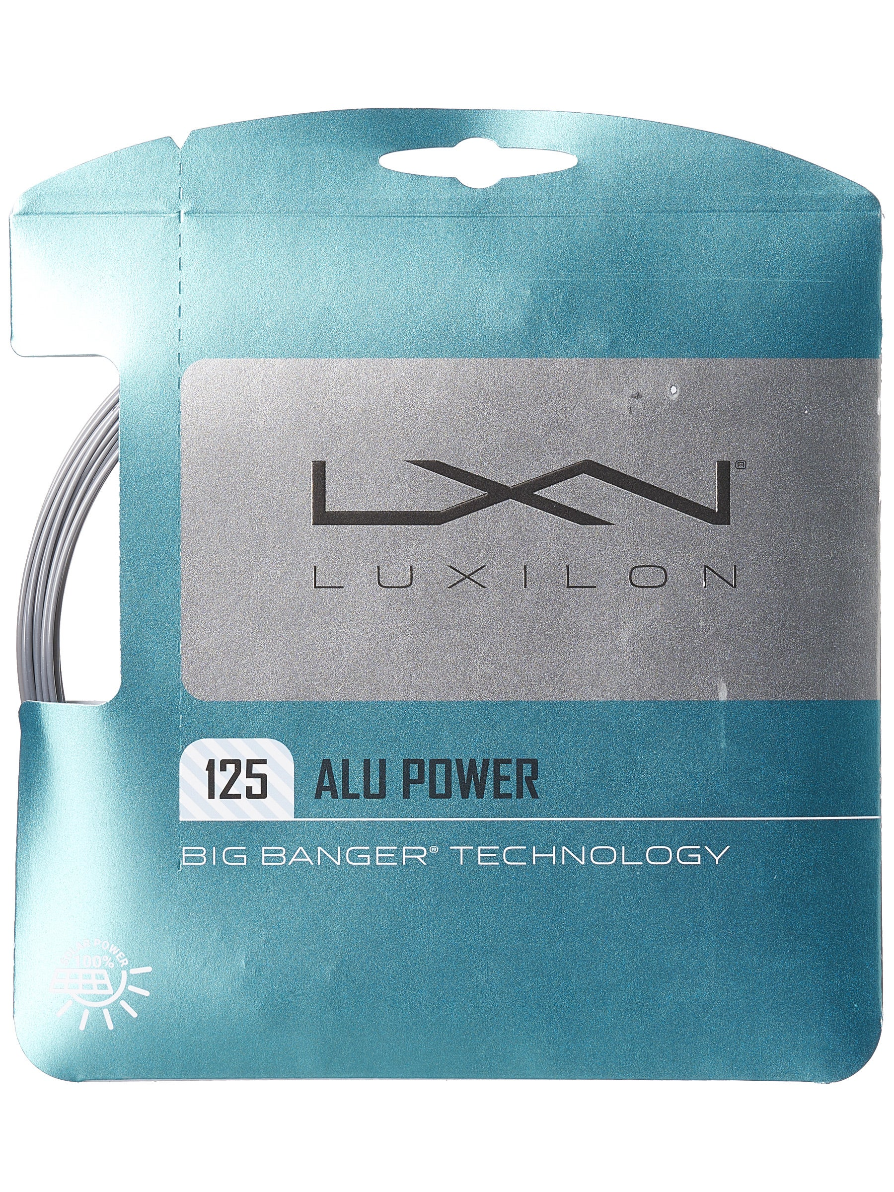 Luxilon ALU Power 16L String Silver
