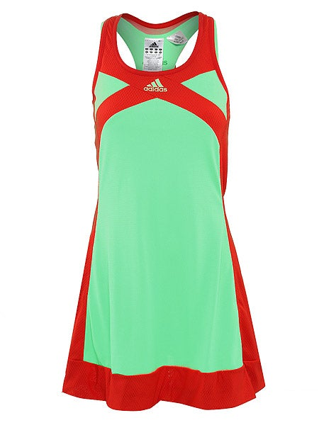 adidas Women's Spring adizero Dress in Super Green w/ Core Energy
