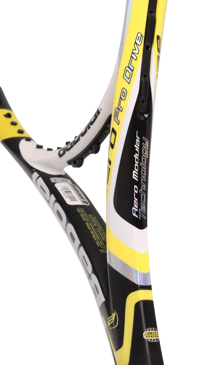 babolat aero pro drive gt throat picture, picture review, 2011 aero review