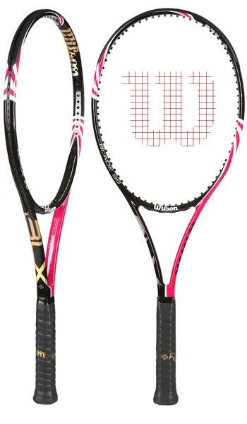 Wilson BLX Blade 98 Pink tennis racquet