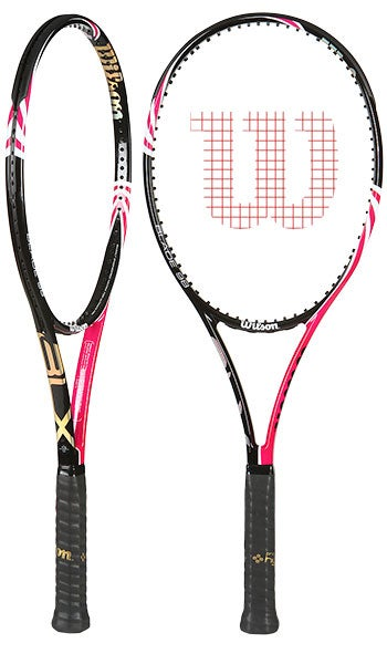 new wilson blx ladies pink racket