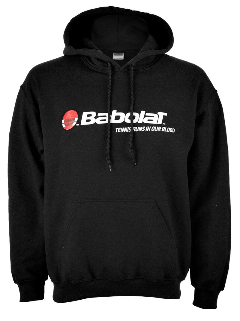 Babolat Men's Tennis Runs in Our Blood Hoodie in black