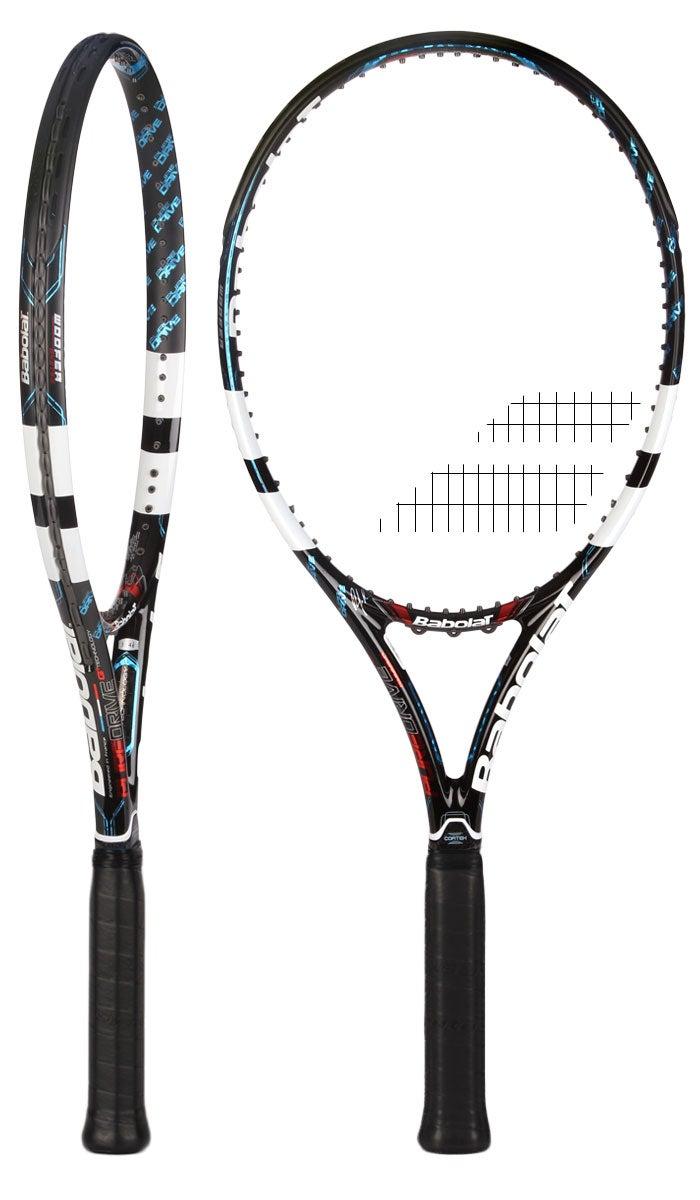2012 best babolat pure drive tennis racquet roddick black