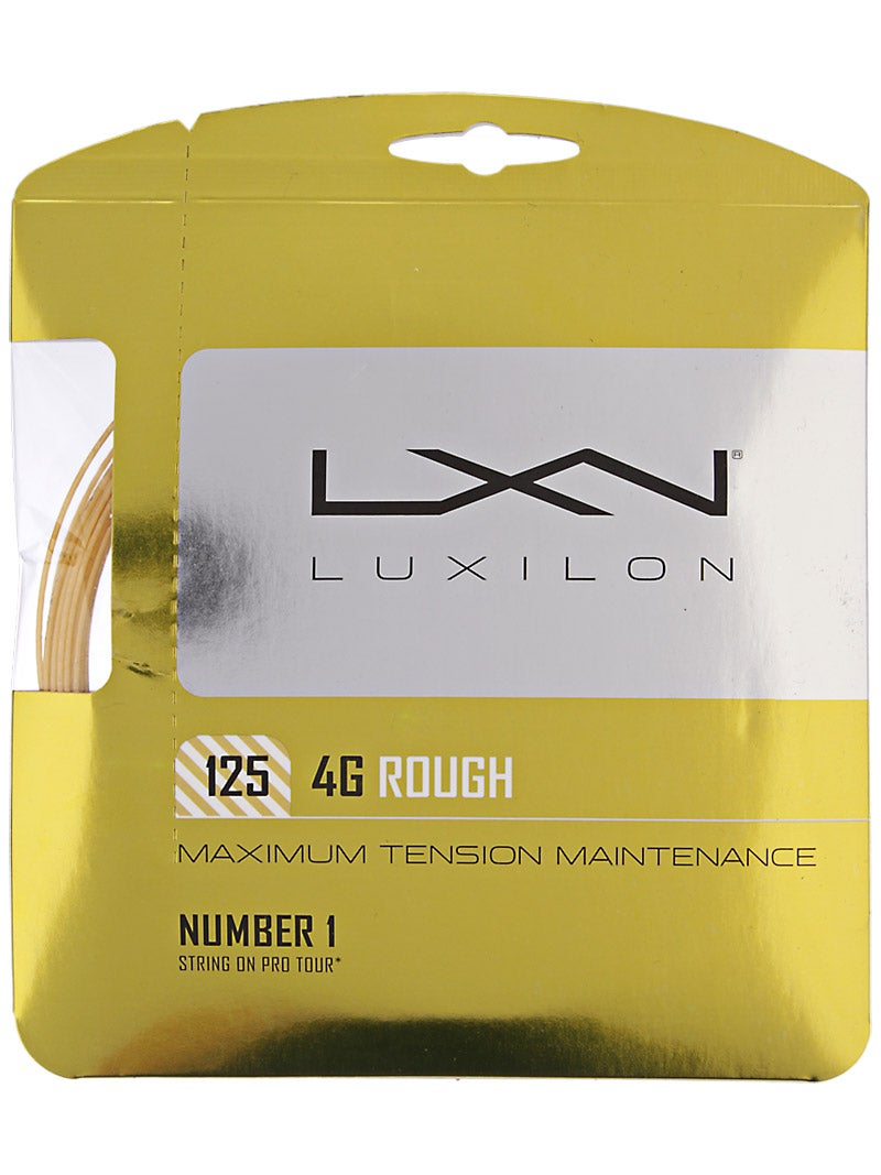 Luxilon 4G Rough 16L (1.25) String
