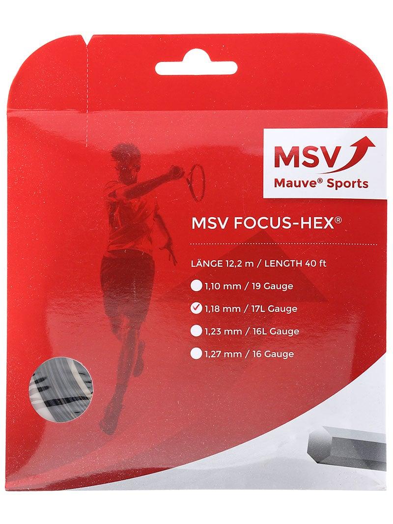 MSV Focus 200m Rolle weiß 1,20 mm 0,30 EUR//m HEX SOFT