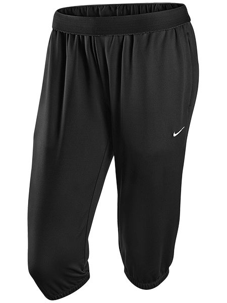 Nike Women's Summer Seasonal Knit Capri in Black