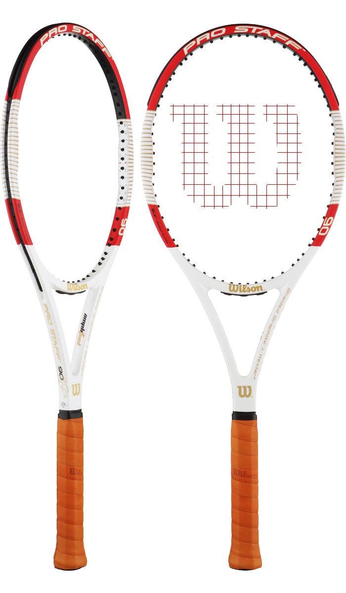 2014 Wilson ProStaff SixOne 90 Roger Federer's tennis racquet for 2014