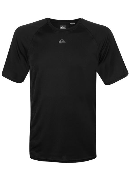 Quiksilver Men's Checkered Crew in Black
