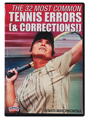 32 Most Common Tennis Errors (& Corrections)