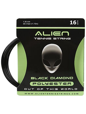 alien black diamond 16 tennis string review