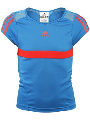 adidas Girl's Fall adipower barricade Cap Sleeve